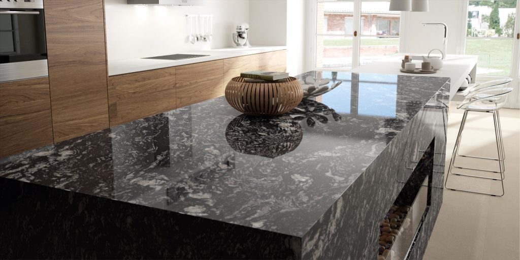 Indian Black detailed counter